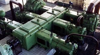 联合研发的国内首台150吨活塞力往复式氢气压缩机组开车并平稳运行图片