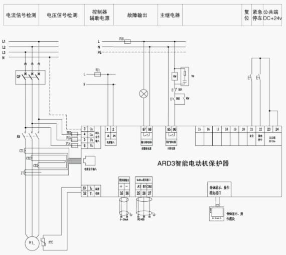 电动机保护器应与其产品编号一致的电流互感