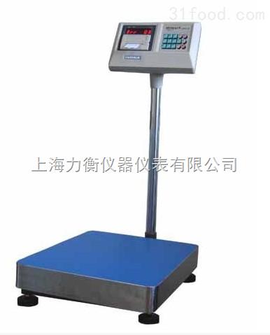 100公斤打印秤,A1+P打印标签台秤